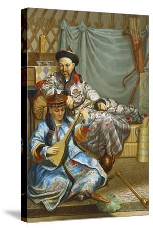 Buryats, 1862--Stretched Canvas Print
