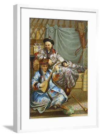 Buryats, 1862--Framed Giclee Print