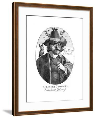Oliver Cromwell--Framed Giclee Print