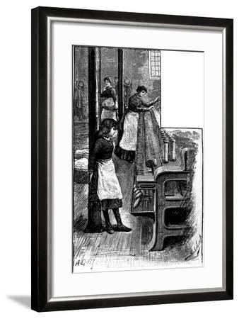 Lace Making, 1884--Framed Giclee Print
