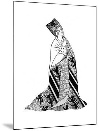 Lady Arderne, Wife of Sir Peter Arderne, Judge and Chief Baron of the Exchequer--Mounted Premium Giclee Print