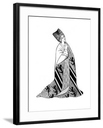 Lady Arderne, Wife of Sir Peter Arderne, Judge and Chief Baron of the Exchequer--Framed Giclee Print