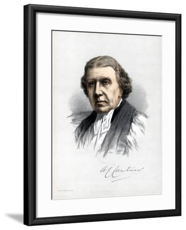 Archibald Campbell Tait, Archbishop of Canterbury, C1890-Petter & Galpin Cassell-Framed Giclee Print