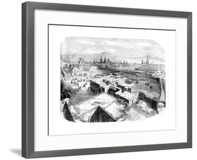 Mexico City, Mexico, Mid 19th Century--Framed Giclee Print