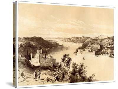 Fortresses of the Dardanelles, Turkey, 19th Century-McFarlane and Erskine-Stretched Canvas Print