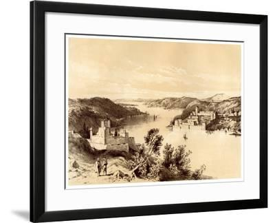 Fortresses of the Dardanelles, Turkey, 19th Century-McFarlane and Erskine-Framed Giclee Print