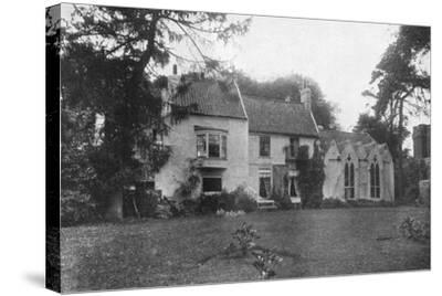 Alfred Lord Tennyson's Birthplace, Somersby, Lincolnshire, 1924-1926-Valentine & Sons-Stretched Canvas Print