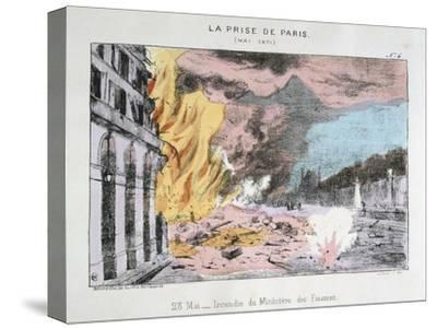La Prise De Paris, 23 May 1871--Stretched Canvas Print