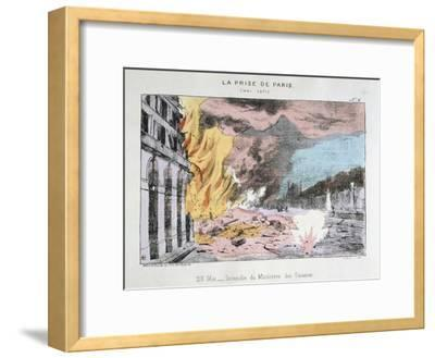 La Prise De Paris, 23 May 1871--Framed Giclee Print