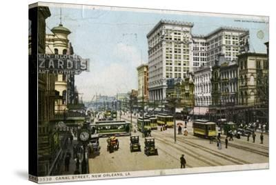 Canal Street, New Orleans, USA, C1912--Stretched Canvas Print