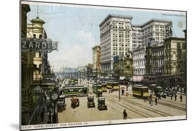 Canal Street, New Orleans, USA, C1912--Mounted Giclee Print