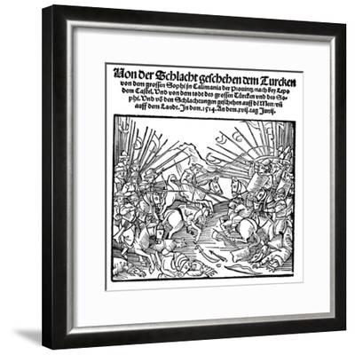 Selim I, Emperor of Turkey from 1512--Framed Giclee Print