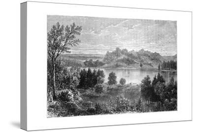 View in the Valley of the Upper Mississippi, 1877--Stretched Canvas Print