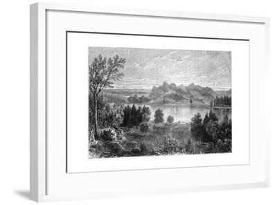 View in the Valley of the Upper Mississippi, 1877--Framed Giclee Print