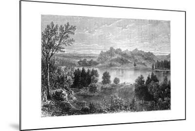 View in the Valley of the Upper Mississippi, 1877--Mounted Giclee Print