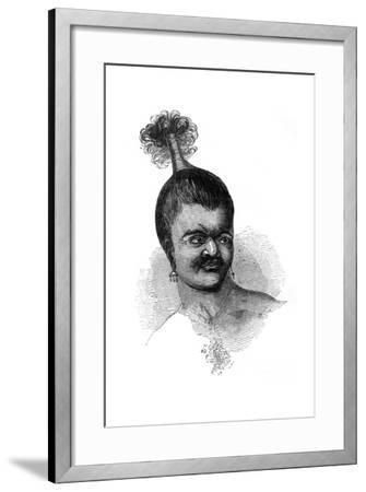 A Native of Omdai Island, 1848--Framed Giclee Print