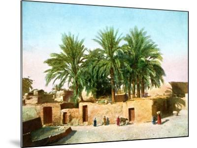 The Village of Karnak, Egypt, 20th Century--Mounted Giclee Print