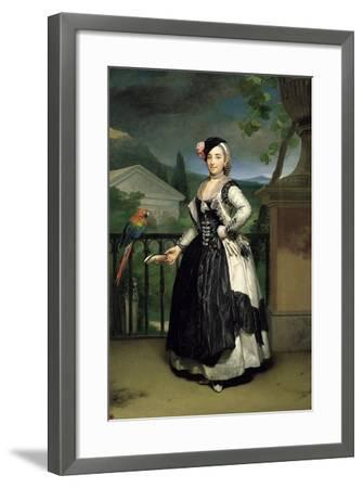 Portrait of Isabel Parreno Arce Ruiz De Alarcon Y Valdés, Marchioness of Llano-Anton Raphael Mengs-Framed Giclee Print