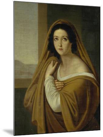Portrait of Princess Yevdokia (Avdoty) Ivanovna Golitsyna, Née Izmaylova (1794-189), 1810S-Alexei Yegorovich Yegorov-Mounted Giclee Print