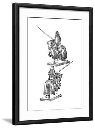 A Justing Toy--Framed Giclee Print