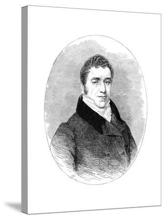 Joseph Hume, (1777-185), 19th Century--Stretched Canvas Print