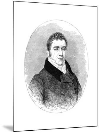 Joseph Hume, (1777-185), 19th Century--Mounted Giclee Print