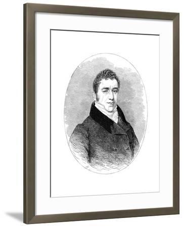 Joseph Hume, (1777-185), 19th Century--Framed Giclee Print