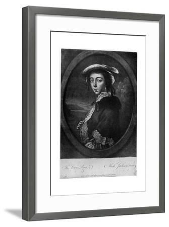 Margaret 'Peg' Woffington (1720-176), Irish Actress, 18th Century-Jackson-Framed Giclee Print