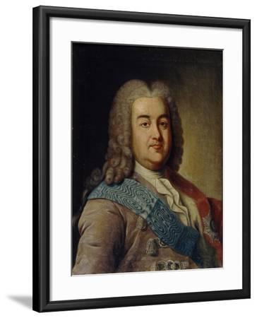 Portrait of Prince Alexey Mikhailovich Cherkassky, 1760S-Ivan Petrovich Argunov-Framed Giclee Print