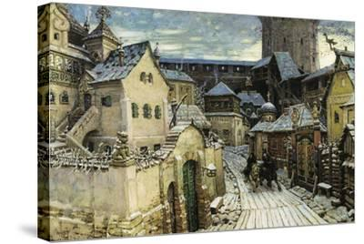 A Heralds, in the Morning in the Kremlin, 1913-Appolinari Mikhaylovich Vasnetsov-Stretched Canvas Print