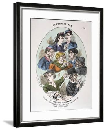 Les Beaux Jours De La Commune, 1871--Framed Giclee Print