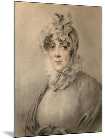 Portrait of Countess Anastasia Nikolaevna Shcherbatova (?-181), Née Dolgorukova-Alexander Molinari-Mounted Giclee Print