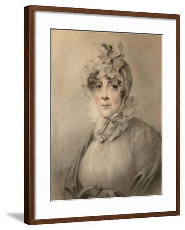 Portrait of Countess Anastasia Nikolaevna Shcherbatova (?-181), Née Dolgorukova-Alexander Molinari-Framed Giclee Print