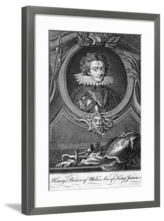 Henry Frederick Stuart, Prince of Wales--Framed Giclee Print