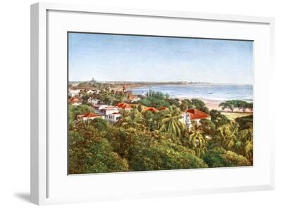 A View from the Ridge, Bombay, India, Early 20th Century--Framed Giclee Print
