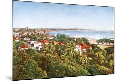 A View from the Ridge, Bombay, India, Early 20th Century--Mounted Giclee Print