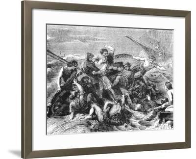 Shipwreck of Prince William, Son of Henry I, 1120--Framed Giclee Print