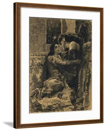 Tamara and Demon, 1890-1891-Mikhail Alexandrovich Vrubel-Framed Giclee Print