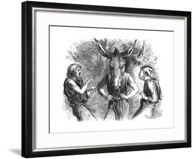 Scene from Shakespeare's a Midsummer Night's Dream--Framed Giclee Print