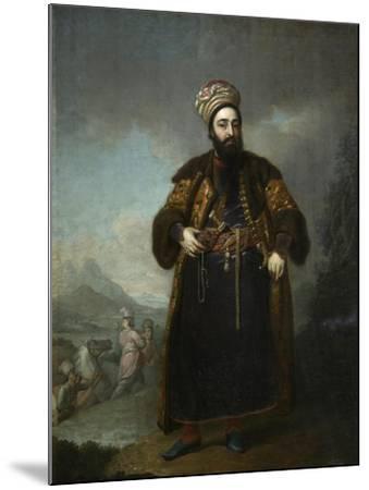 Portrait of Murtaza Kuli Khan, 1796-Vladimir Lukich Borovikovsky-Mounted Giclee Print