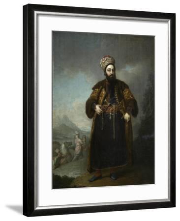 Portrait of Murtaza Kuli Khan, 1796-Vladimir Lukich Borovikovsky-Framed Giclee Print