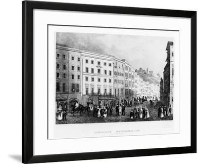 The House in Salzburg in Which Mozart Was Born in 1791, (Mid 19th Centur)--Framed Giclee Print