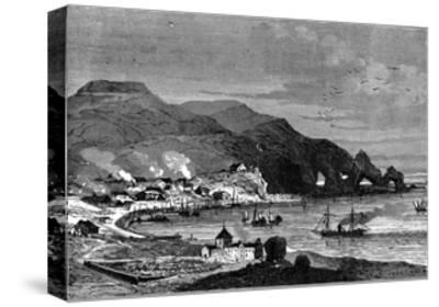 Thorshavn, the Capital of the Faroe Islands, C1890--Stretched Canvas Print