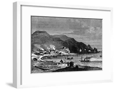 Thorshavn, the Capital of the Faroe Islands, C1890--Framed Giclee Print