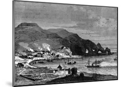 Thorshavn, the Capital of the Faroe Islands, C1890--Mounted Giclee Print