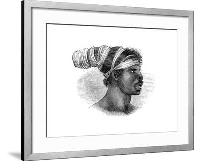 A Native Australian, 1848--Framed Giclee Print