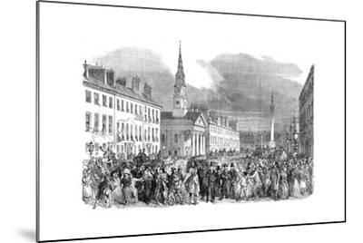 A Procession of Seceding Ministers from St.Andrew's Church, Edinburgh, C1895--Mounted Giclee Print