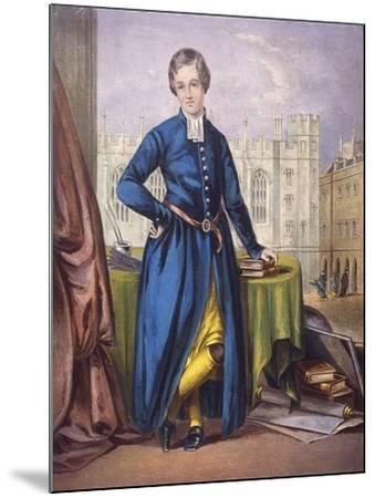 Christ's Hospital Pupil, City of London, 1854--Mounted Giclee Print