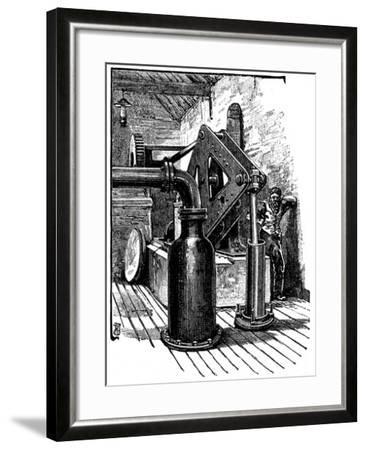 South Durham Salt Works, 1884--Framed Giclee Print