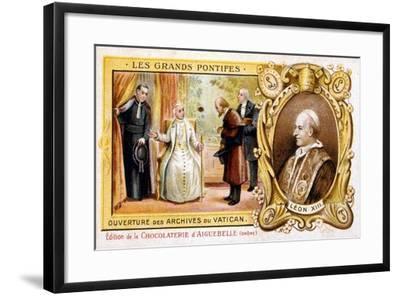 Pope Leo XIII, C1883-1899--Framed Giclee Print